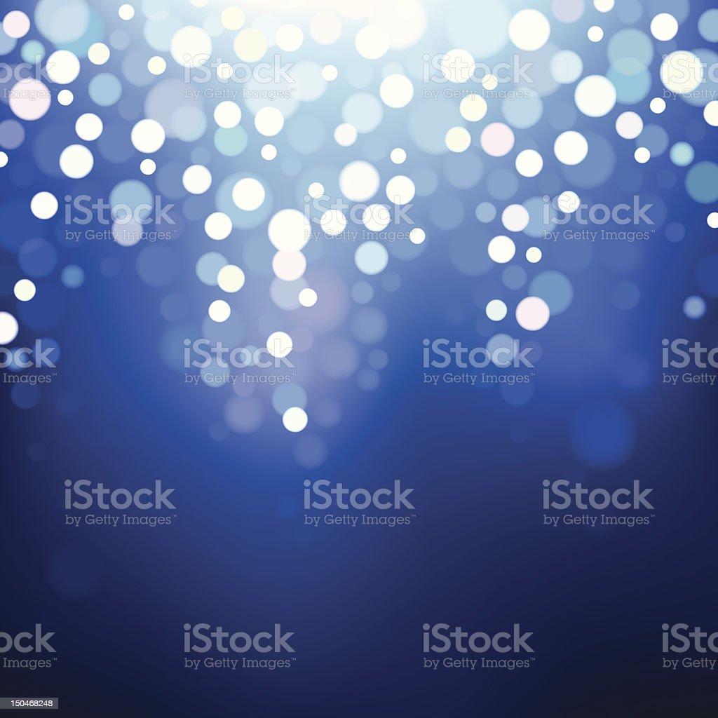 Blue lights. EPS8 royalty-free blue lights eps8 stock vector art & more images of backgrounds