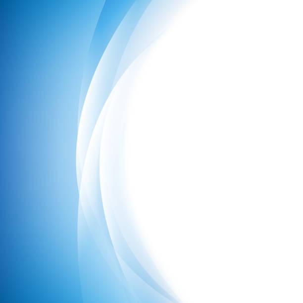 Blue Line Background - ilustração de arte em vetor