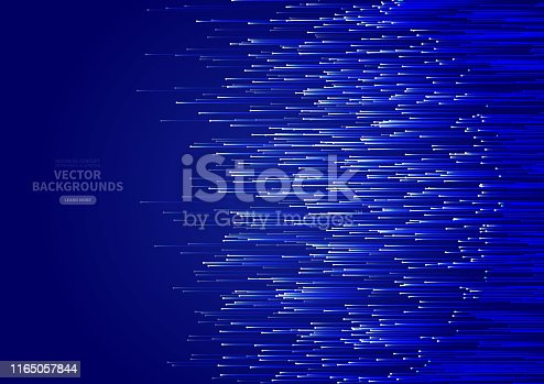 Blue lines business technology background