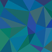 istock Blue low poly background 1295972016