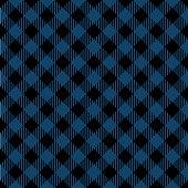 Blue and black lumberjack seamless diagonal pattern.