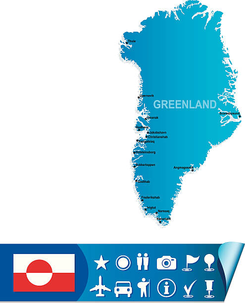 Blue map of Greenland with flag on white background [url=http://russki.istockphoto.com/search/lightbox/11340197#191179cdt=_blank][img]http://s017.radikal.ru/i410/1110/e5/b7d44df3f1f1.jpg[/img][/url  Tourist Map of Greenland easily edited with sets of navigation characters  http://www.lib.utexas.edu/maps/islands_oceans_poles/greenland.jpg  illustrator and freehand were used to trace the image on 21 february 2012 and created in Corel Draw  Layers of data used: outlines greenland stock illustrations