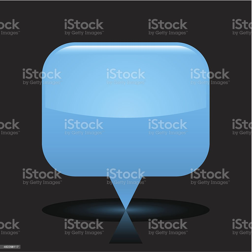 Blue map pin sign glossy icon rectangle pictogram black background royalty-free blue map pin sign glossy icon rectangle pictogram black background stock vector art & more images of application form