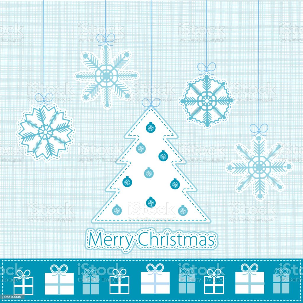 Blue Merry Christmas background royalty-free blue merry christmas background stock vector art & more images of abstract