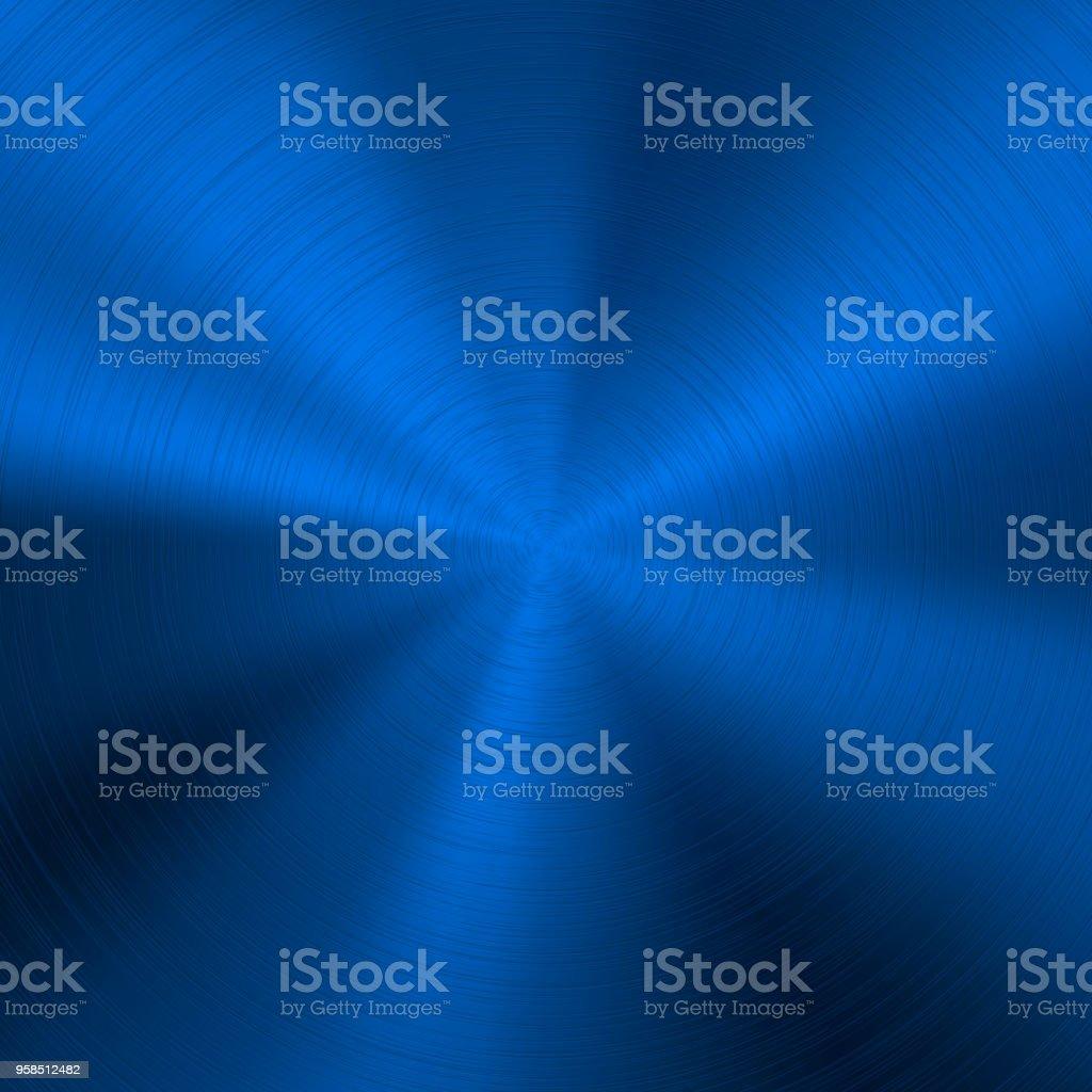 Blue Metal Technology Texture vector art illustration