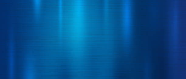 Blue metal texture background vector illustration Blue metal texture background vector illustration metal stock illustrations