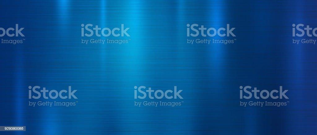 Ilustração em vetor fundo textura de metal azul - ilustração de arte em vetor