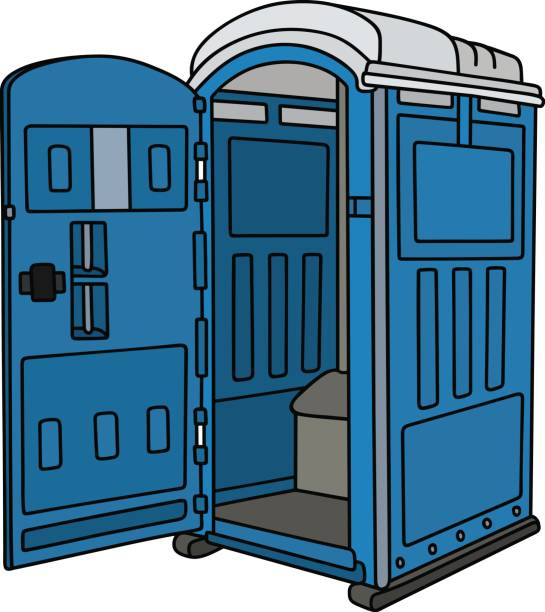 Free Restroom Cliparts Download Free Clip Art Free Clip: Best Port A Potty Illustrations, Royalty-Free Vector