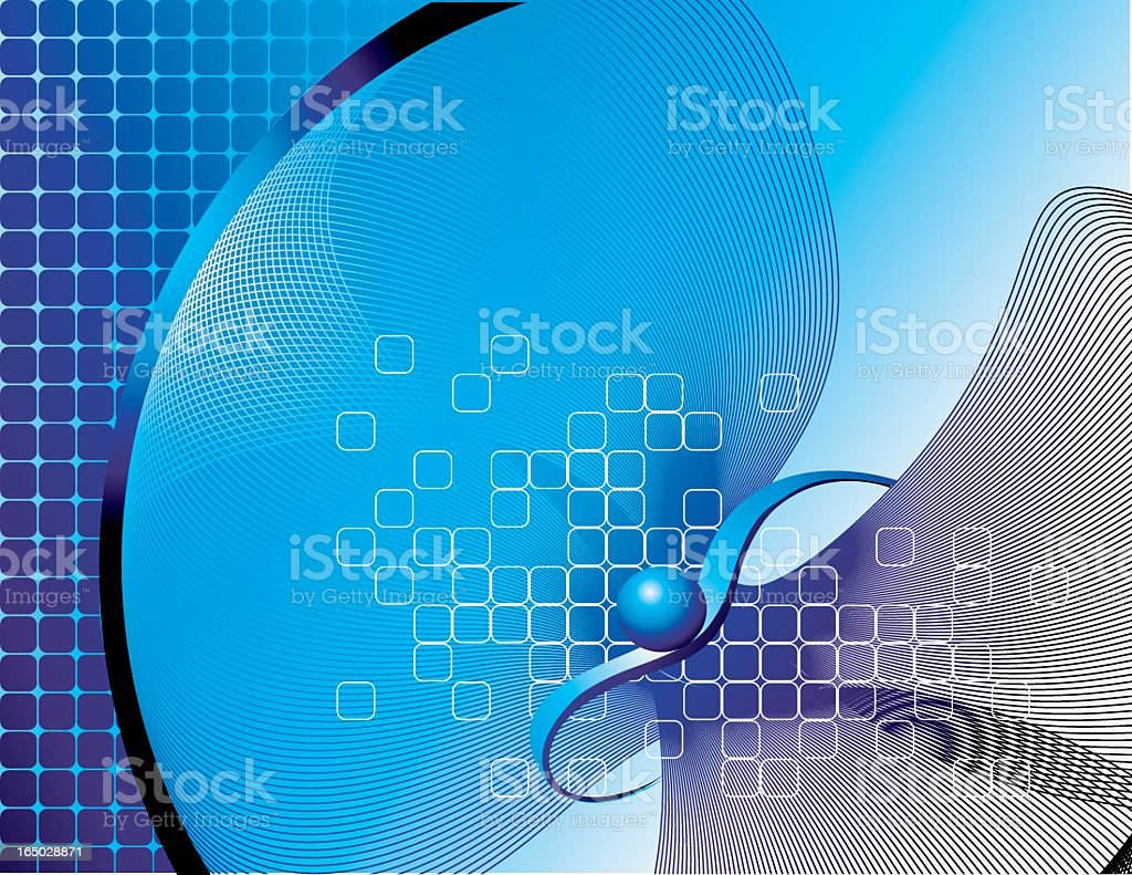 Blue Modern Background royalty-free stock vector art
