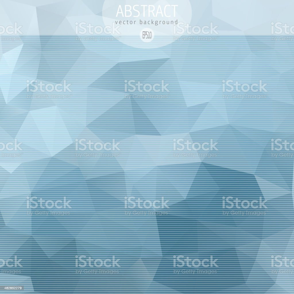 Blue mosaic triangle background royalty-free blue mosaic triangle background stock vector art & more images of abstract