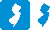 Blue New Jersey Icon