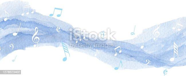 istock blue paint music 1278523402