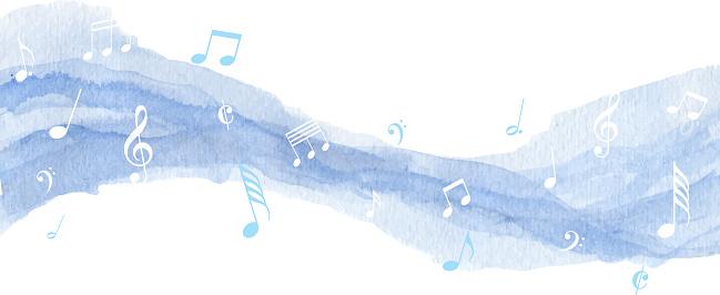 blue paint music