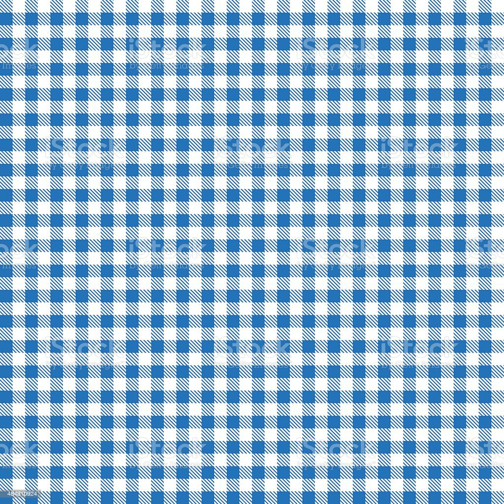 blue patterns tablecloths vector art illustration