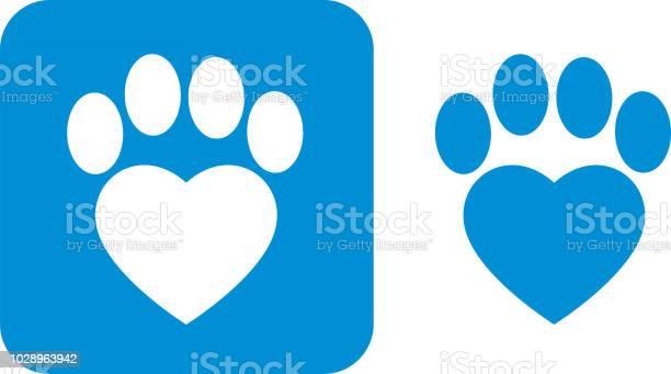 Blue paw print icons vector id1028963942?b=1&k=6&m=1028963942&s=612x612&h=gsoc3h6ulvk iamu6as5jufpodysl 5df0nd6 ruu24=