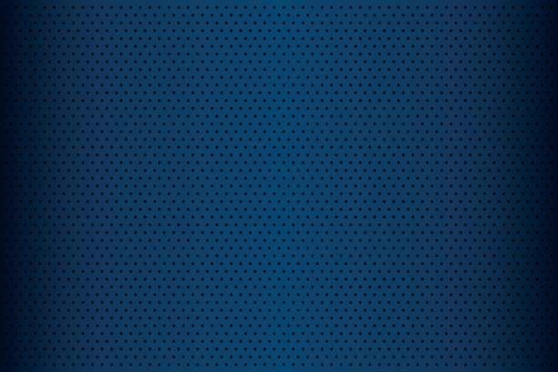 藍色穿孔金屬質感、 抽象背景、 向量圖向量藝術插圖