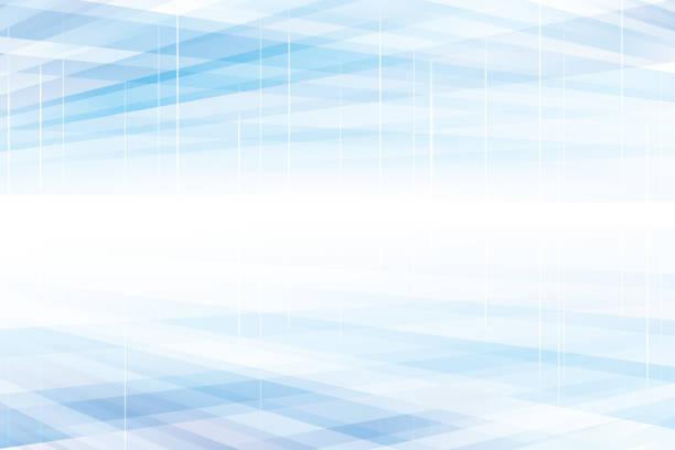 파란색 원근 구조 현대 추상 배경 - abstract background stock illustrations