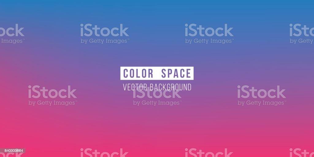 Blue Pink Soft Color Space Defocus Smooth Gradient Background vector art illustration