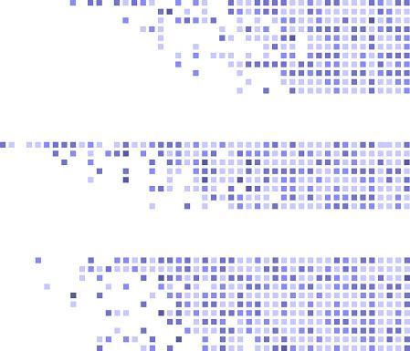 pixelated pattern strips designs