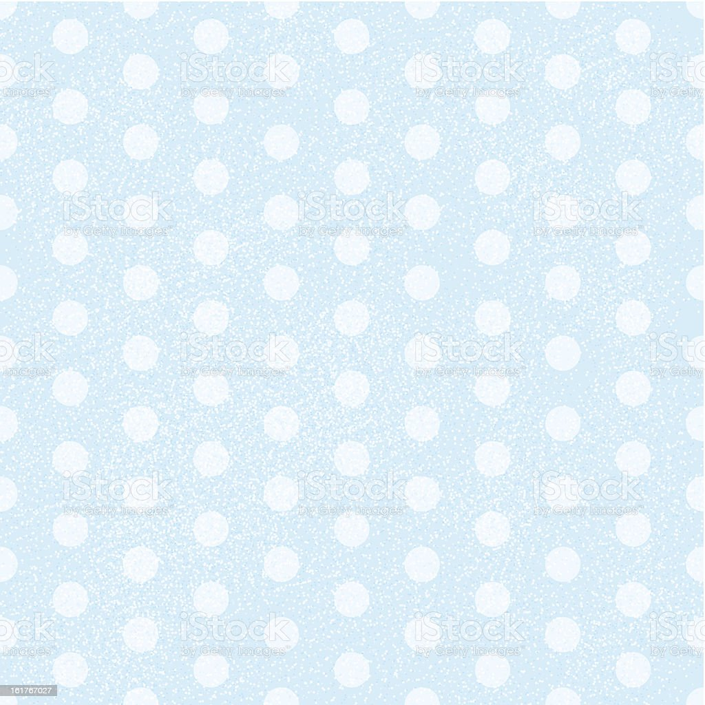 Blue Polka Dot Fabric Background that is seamless and repeats royalty-free blue polka dot fabric background that is seamless and repeats stock vector art & more images of backdrop