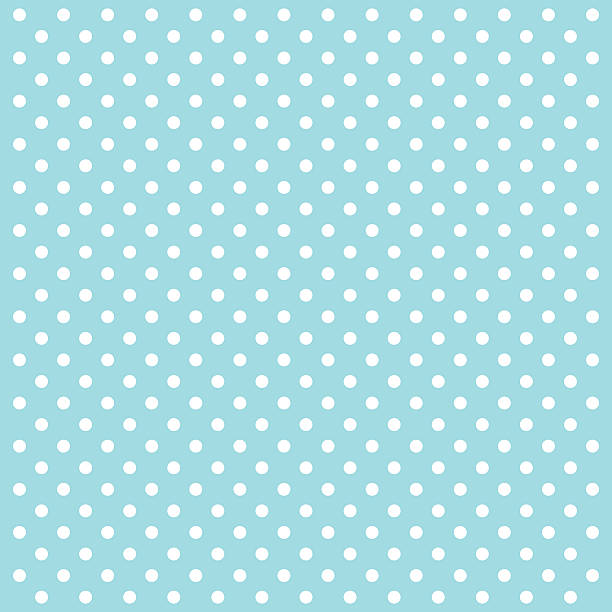Blue Polka Dots Vector Background - VECTOR Blue Polka Dots Vector Illustration Background. polka dot stock illustrations