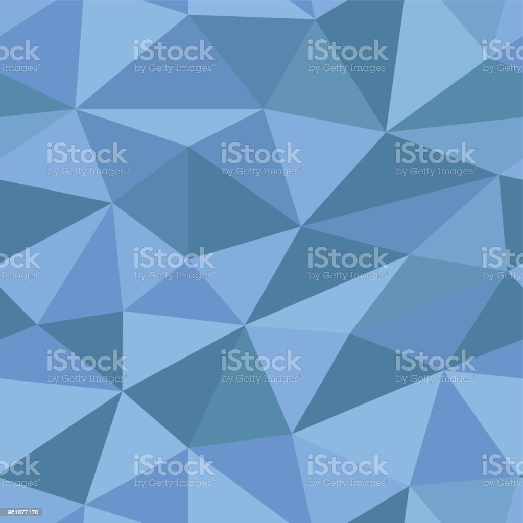 Blue polygonal 3d background. Seamless pattern royalty-free blue polygonal 3d background seamless pattern stock vector art & more images of abstract