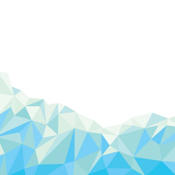 Blue polygonal abstract background vector art illustration