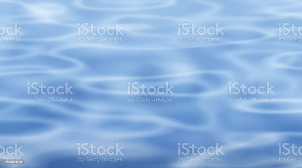 Blue pool vector art illustration