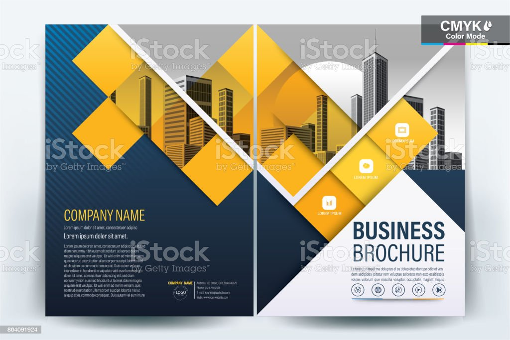 Blue Poster Brochure Flyer design Layout background vector template A4 royalty-free blue poster brochure flyer design layout background vector template a4 stock vector art & more images of advertisement