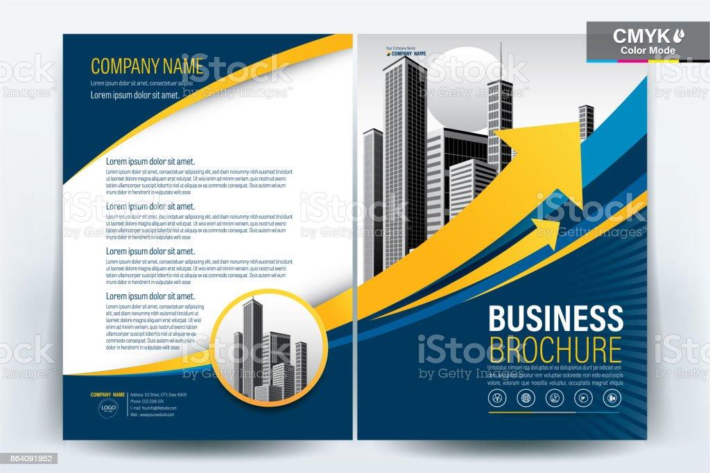 Mavi Afiş Broşür Ve Ilan Tasarım Düzeni Arka Plan Vektör şablonu A4