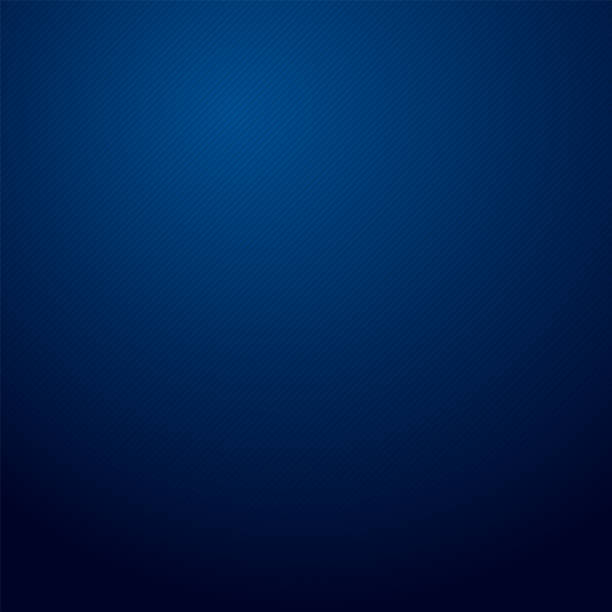 illustrazioni stock, clip art, cartoni animati e icone di tendenza di blue radial gradient texture background. abstract with shadow. blue wallpaper pattern. - blu scuro