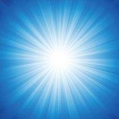 Blue Radiance Background
