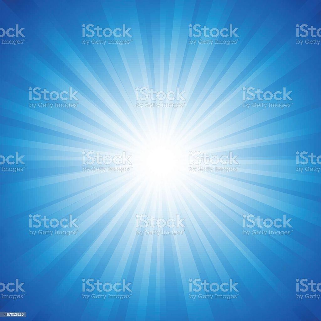 Blue Radiance Backgroundvectorkunst illustratie
