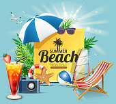 drawing of vector relaxing holiday sign. Created by illustrator cs6. This file of transparent.