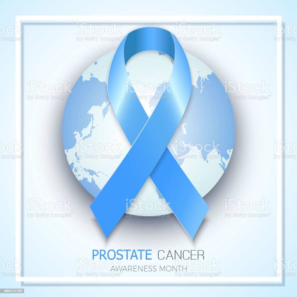 Blue ribbon symbol for prostate cancer awareness month vector blue ribbon symbol for prostate cancer awareness month vector background design for men social and buycottarizona Image collections