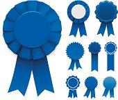 istock Blue Ribbons 165634384