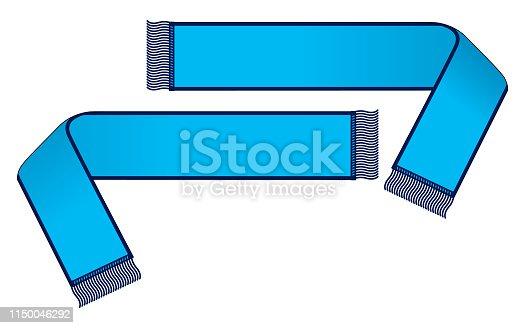 Navy Blue Edging