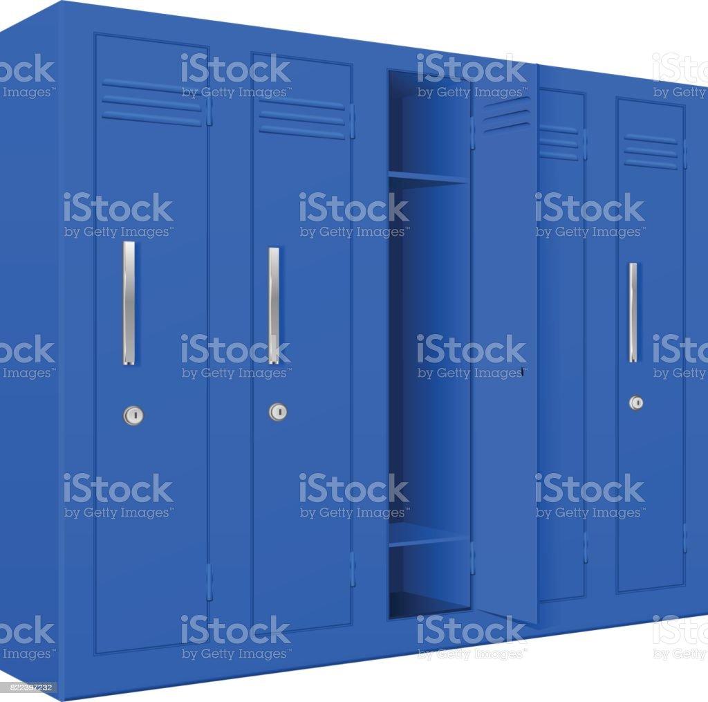 royalty free locker clip art vector images illustrations istock rh istockphoto com clipart locker room lock clipart