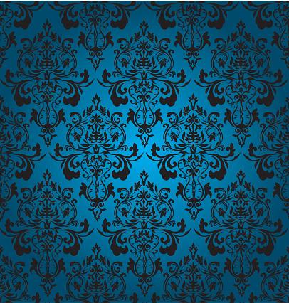 Blue Seamles Wallpaper