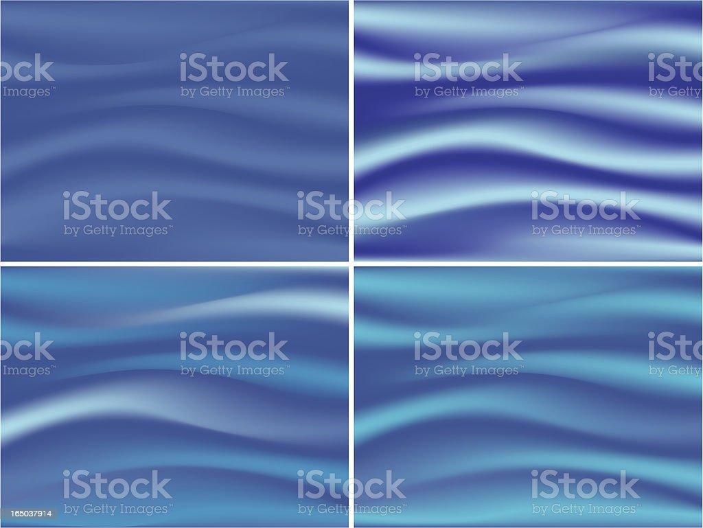 blue silk royalty-free stock vector art