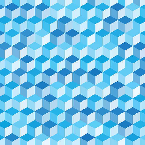 Blue Sky Geometric Cube Hexagon Pattern Blue Sky Geometric Cube Hexagon Pattern. Global Colors used, so you can easily change the base colors with just a few clicks. The colors in the .eps-file are in RGB. Transparencies used. Included files are EPS (v10) and Hi-Res JPG (3472 x 3472 px). abstract 3d stock illustrations