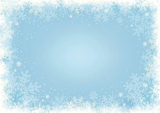 blauer schneeflocke hintergrund. - gefroren stock-grafiken, -clipart, -cartoons und -symbole