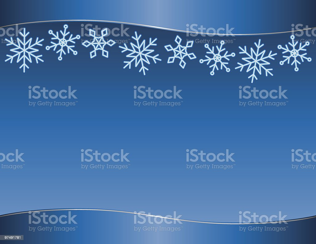 Blue Snowflakes royalty-free blue snowflakes stock vector art & more images of backgrounds