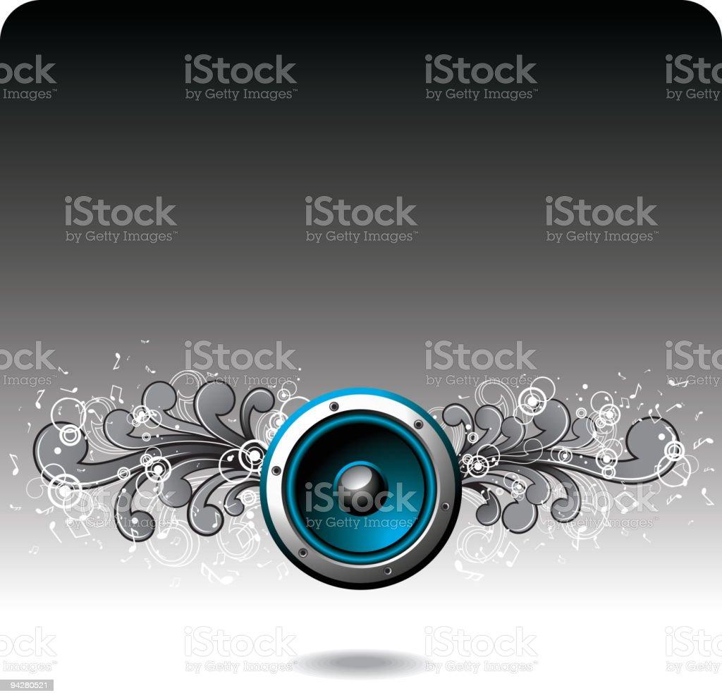 blue speaker royalty-free blue speaker stock vector art & more images of abstract