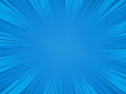 Blue speed lines 2