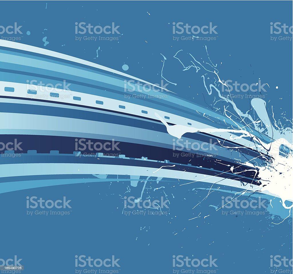 Blue Splash royalty-free blue splash stock vector art & more images of abstract