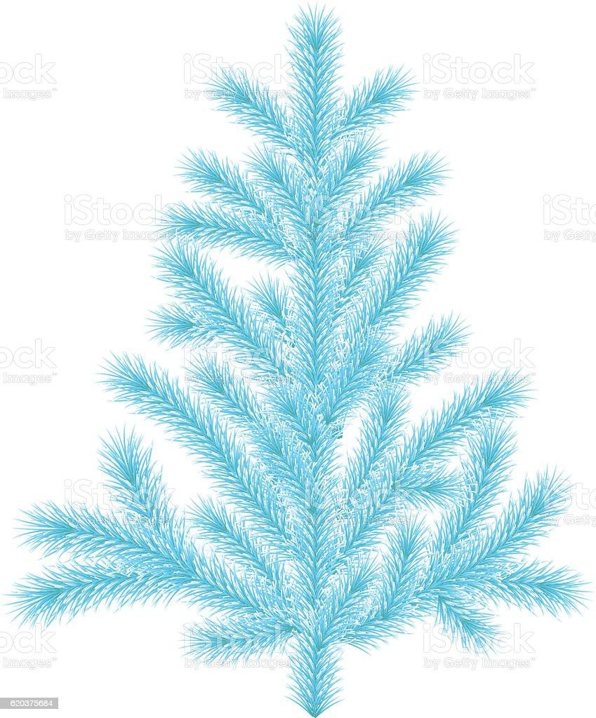 Blue spruce. blue spruce - stockowe grafiki wektorowe i więcej obrazów bez ludzi royalty-free