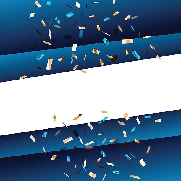 blue square tło z latania elementy graficzne. - holiday background stock illustrations