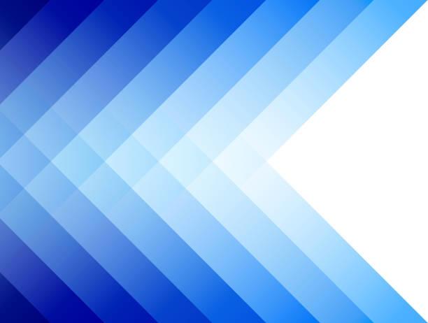 Fondo azul con rayas - ilustración de arte vectorial