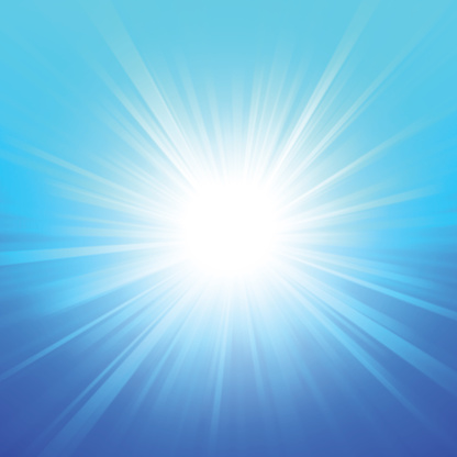 Blue Summer Glow